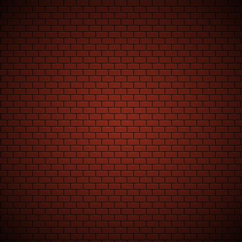 Realistisches hoch-ausführliches Backsteinmauermuster, Vektorillustration vektor