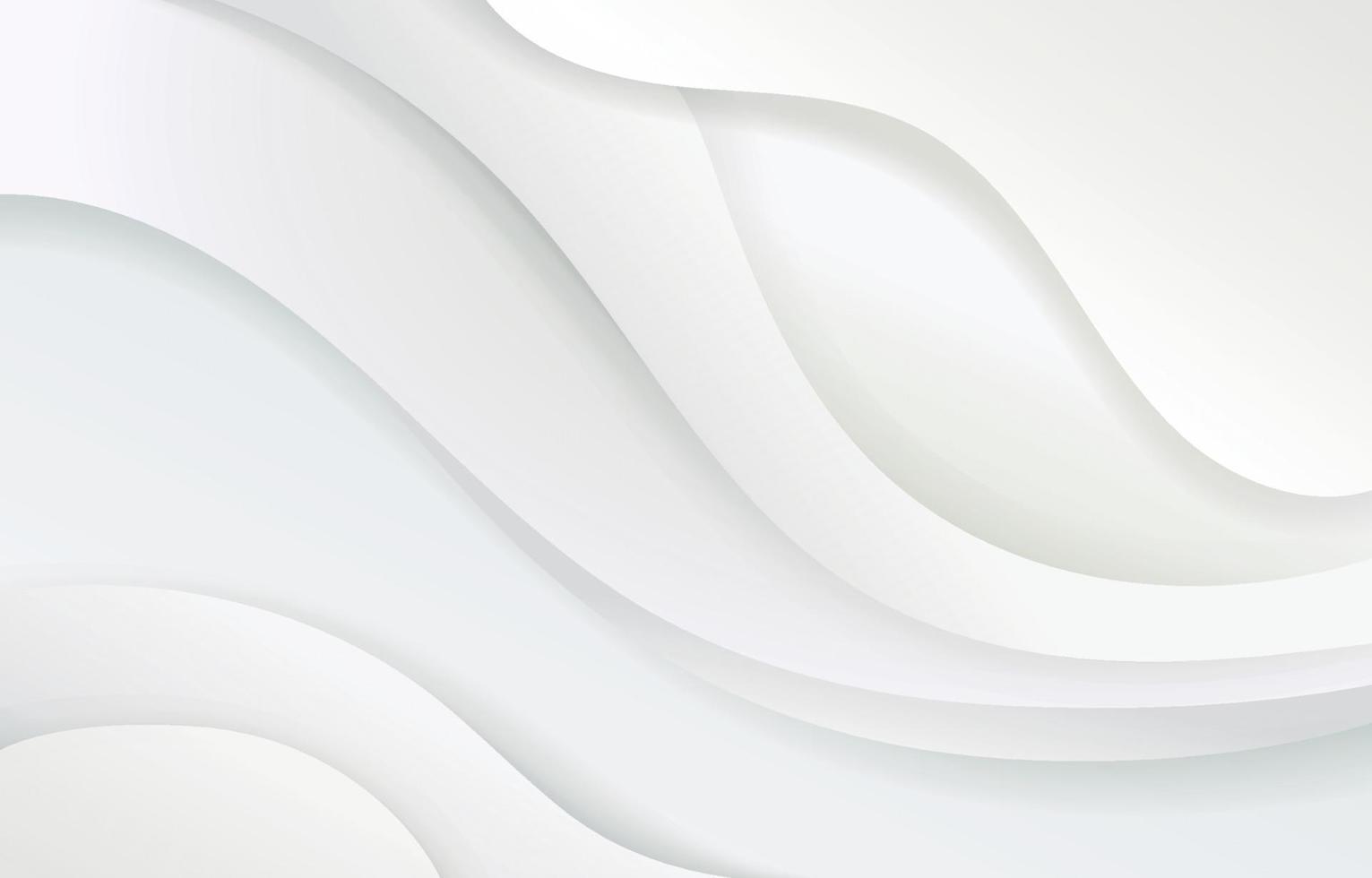 abstrakter weißer und grauer Farbhintergrund vektor