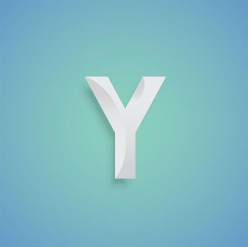 Weißbuchzeichen auf blauem Hintergrund von einem Satz, Vektor