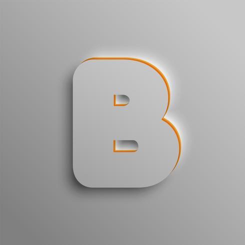 Realistische 3D-Schrift, Vektor