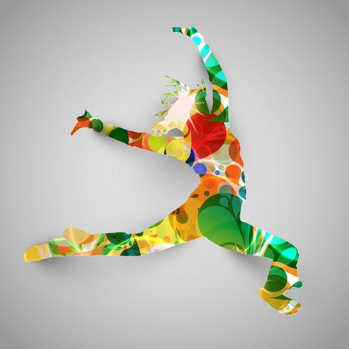 Färgrik hoppare vektor illustration