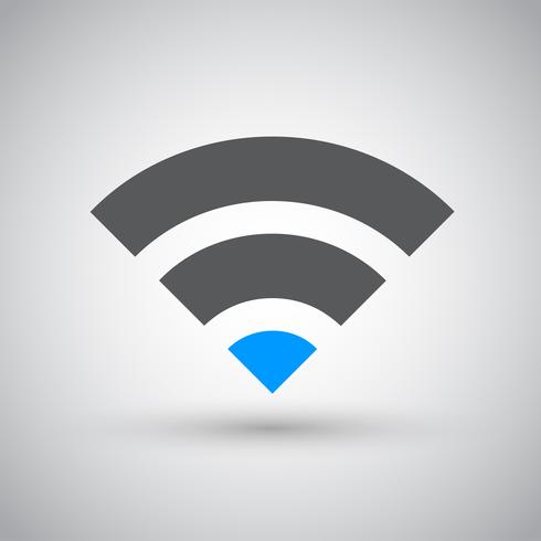 Wifi-nätverk, internetzonikon vektor