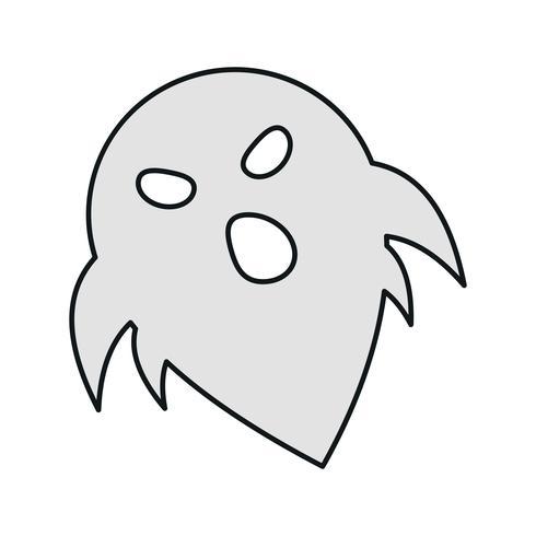 Vektor-Geister-Symbol vektor