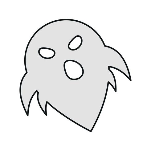 vektor spök ikon