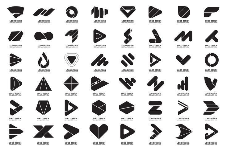 Modernes minimales Vektor-Logo für Banner vektor