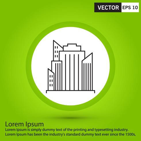 Perfekte schwarze Ikone, Vektor oder Piktogrammillustration auf grünem Hintergrund.