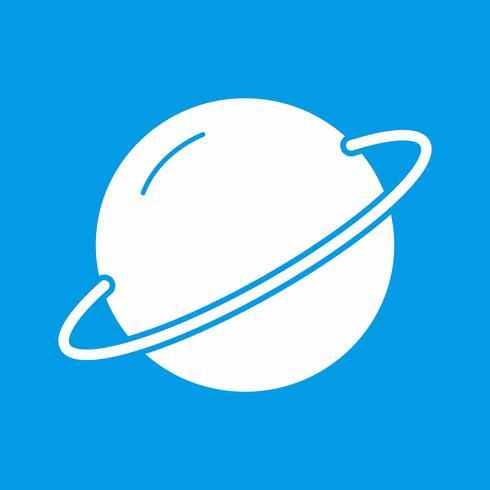 Vektor-Planet-Symbol vektor