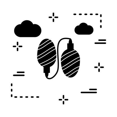 Vektor leuchtet Symbol