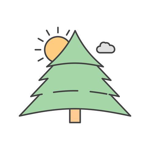 Vektor-Baum-Symbol vektor