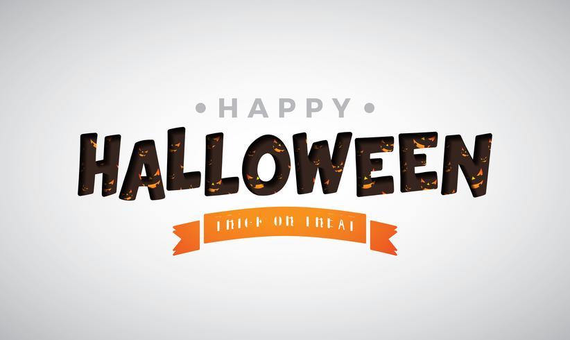 Happy Halloween Abbildung vektor