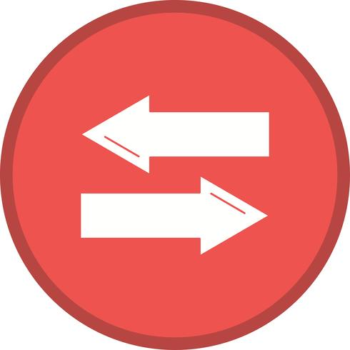 """Symbol """"Richtung gefüllt"""" vektor"""
