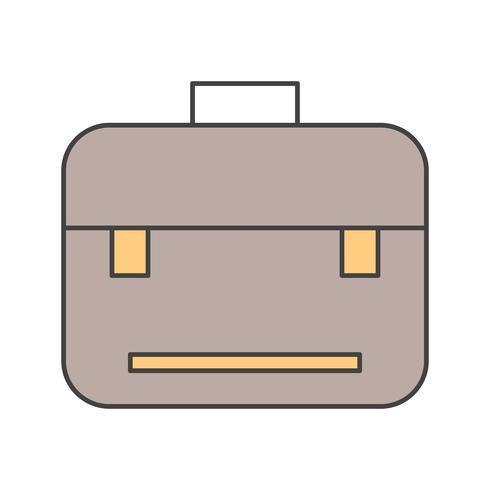 Vektor Breifcase-Symbol