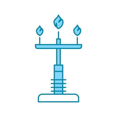 Vektor-Lampensymbol vektor
