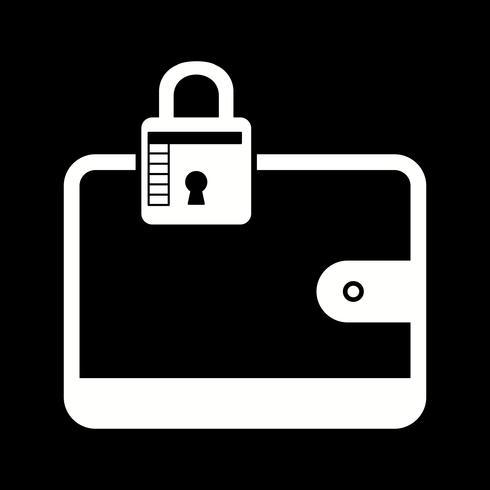 Vektor-Brieftasche-Symbol vektor
