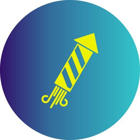 Vektor-Feuerwerk-Symbol vektor
