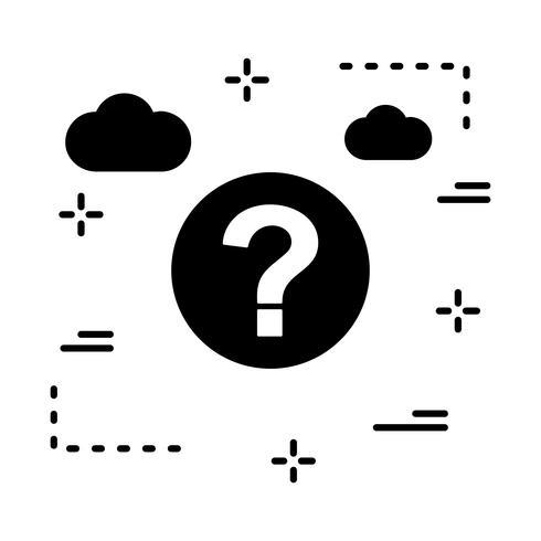 Vektor Frage Symbol