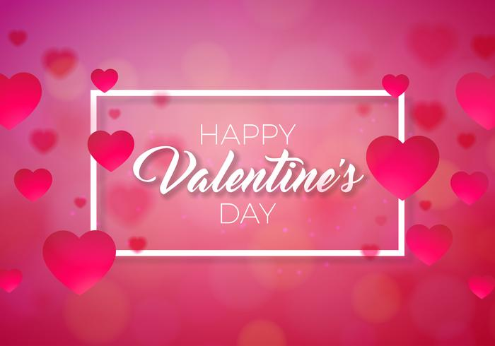 Happy Valentines Day Abbildung vektor