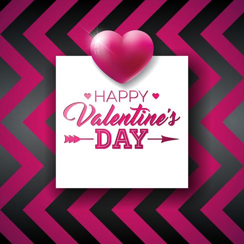 Happy Valentines Day Design vektor