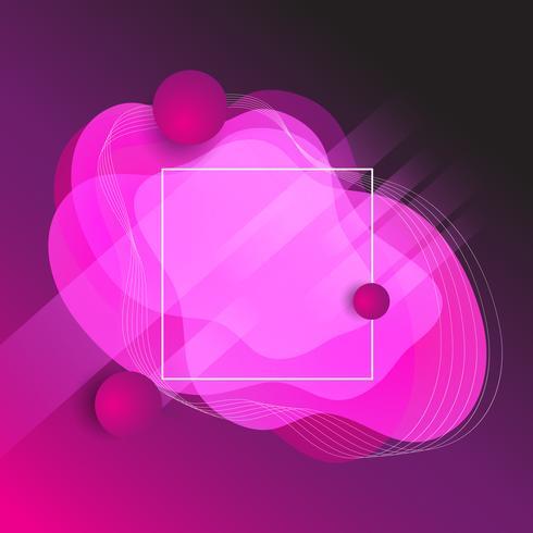 Abstrakt former bakgrund vektor