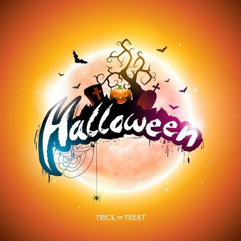 Halloween-Abbildung vektor