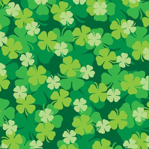 St Patrick's Day skiktat mönster vektor