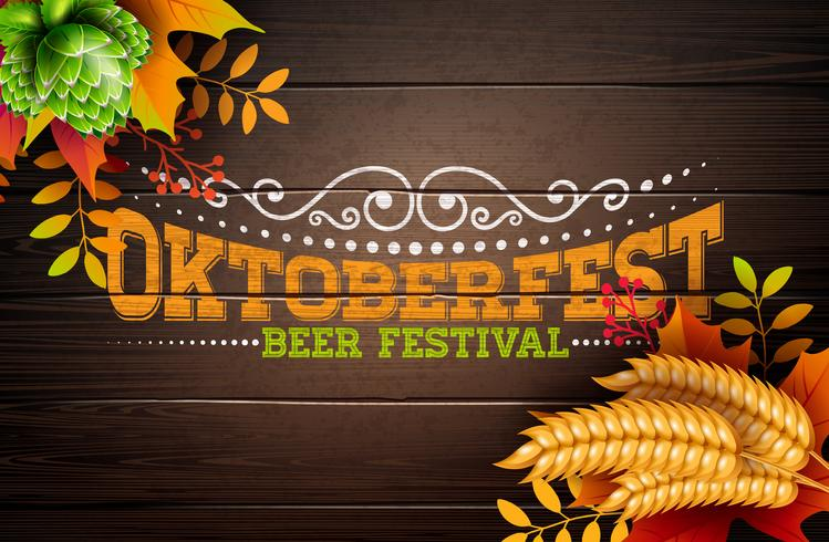 Oktoberfest Banner Illustration vektor