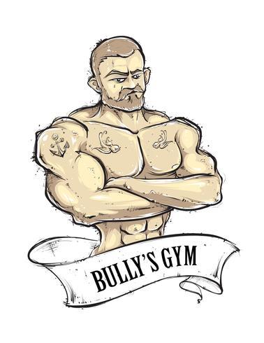 Bullys Fitnessstudio vektor