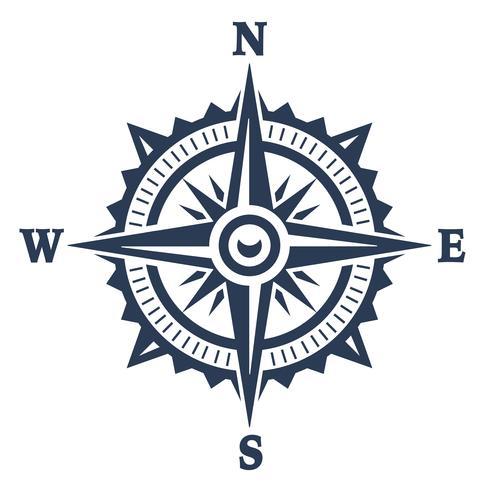 Windrose-Vektor vektor