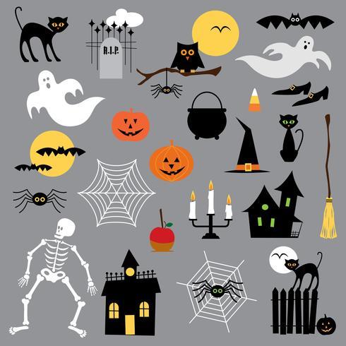 halloween clipart vektor