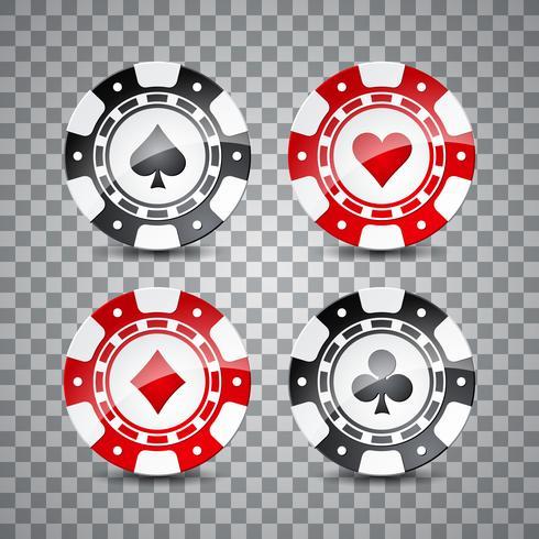 casinotemaillustration vektor