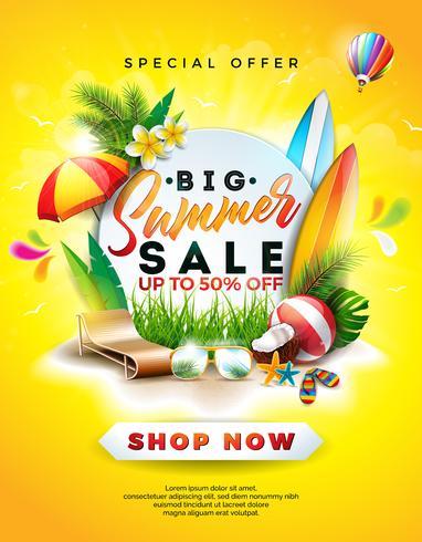 Summer Sale Design vektor