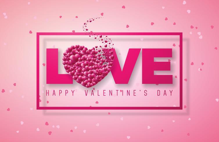 Valentinstag Design vektor
