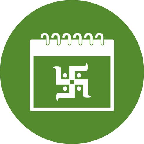 Vektor-Kalender-Symbol vektor