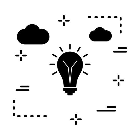 Vektor-Birne-Symbol vektor