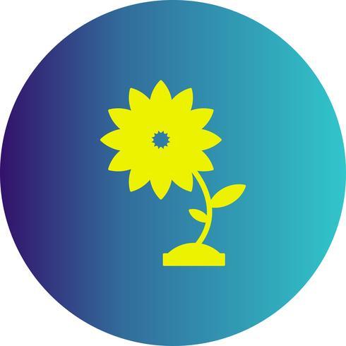 Vektor Blume Symbol