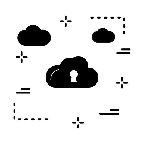 Vektor Schlosssymbol