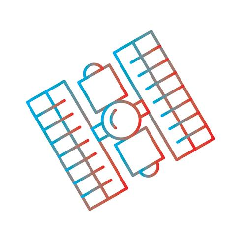 Perfektes Symbol für Farbverlauf vektor