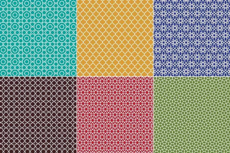Marokkanische Muster vektor