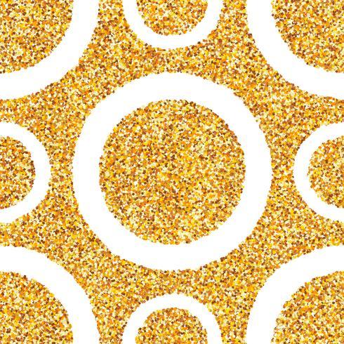 Abstrakter nahtloser Hintergrund des Goldstaubs. vektor