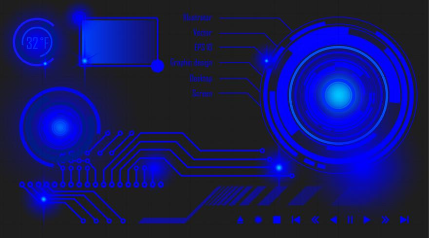 Bildschirm vektor