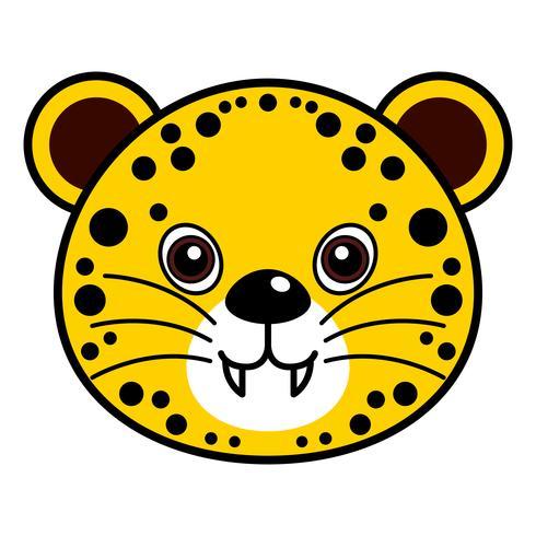 Netter Gepard-Vektor. vektor