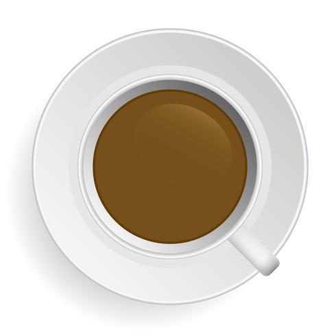 Kaffee-Vektor. vektor