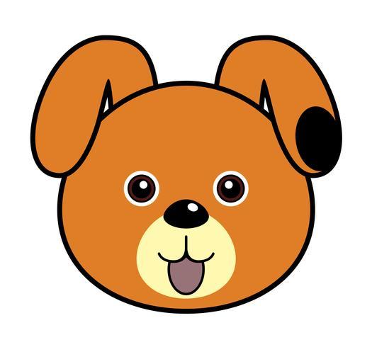 Süßer Hund. vektor