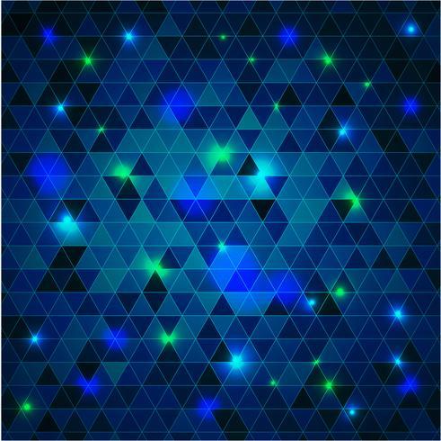 Guten Rutsch ins Neue Jahr - bunte Disco beleuchtet Hintergrund vektor