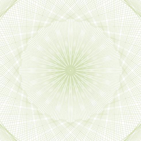 Guilloche-Musterrosette für Spielgeld oder andere Sicherheitspapiere vektor