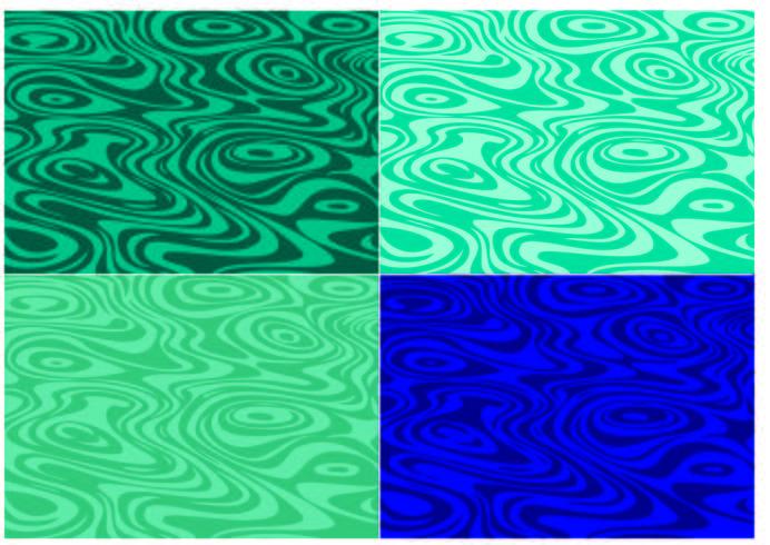 vatten yta mönster vektor