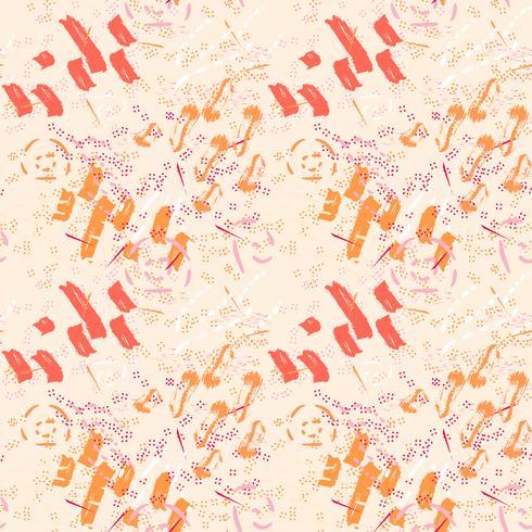 Memphis abstrakt sömlöst mönster vektor