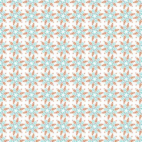 Blomma sömlöst mönster. vektor
