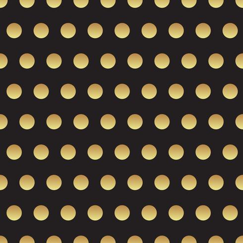 Universalschwarzes und Goldnahtloses Muster, Fliesen. vektor
