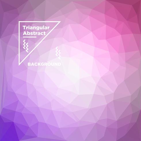 Triangulär polygonal bakgrund vektor